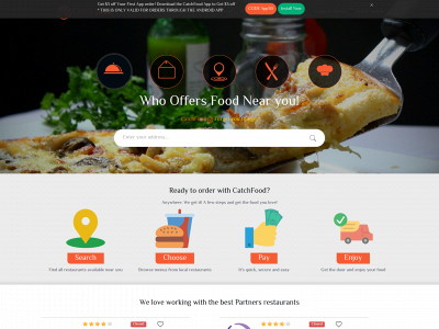 CatchFood Order Delivery & Pickup Deals